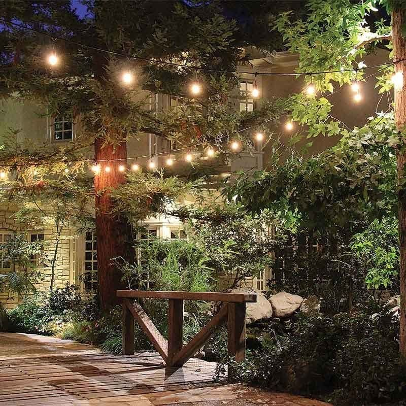 Feit 48ft 14.6m LED Indoor Outdoor Waterproof Colour Changing String Lights