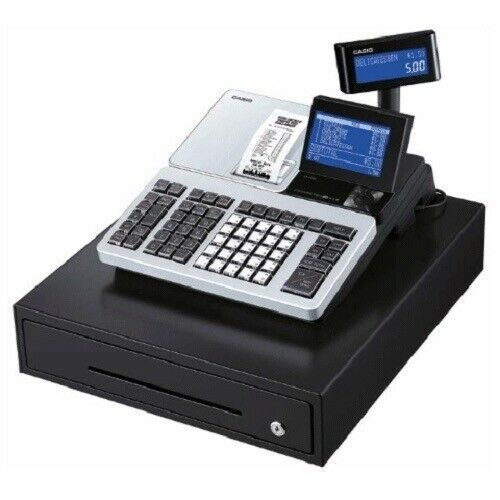 Casio SR-S500 MD / SRS500 MD Retail Cash Register with Bluetooth